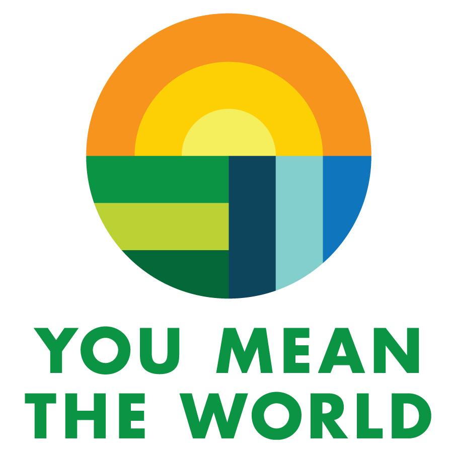 You Mean The World logo design by logo designer arin fishkin