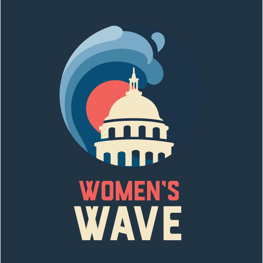 WomensWaveAll logo design by logo designer arin fishkin