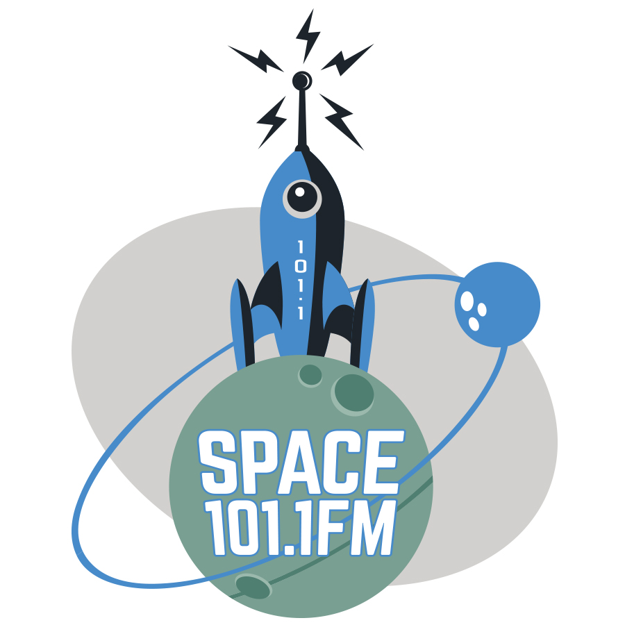 Space 101X FM logo design by logo designer Causality