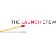 The Launch Crew logo design by logo designer Rubin Cordaro Design for your inspiration and for the worlds largest logo competition