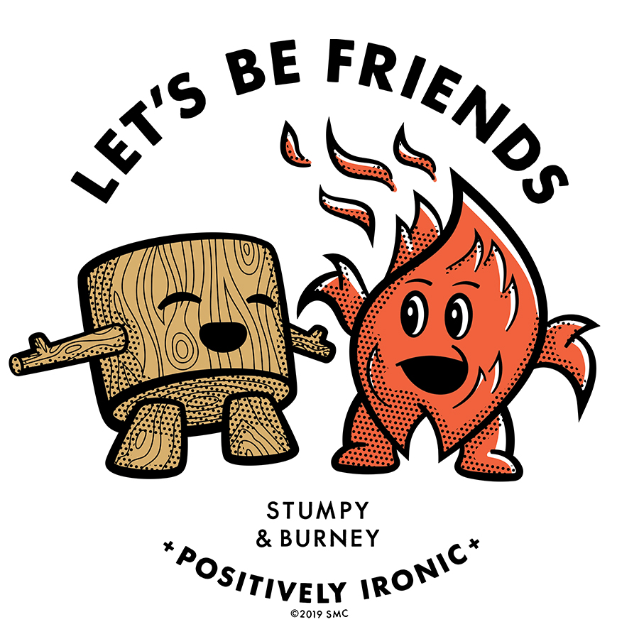 Lets Be Friends logo design by logo designer Scott McFadden Creative, LLC. for your inspiration and for the worlds largest logo competition