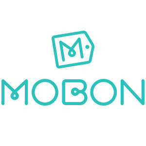 Mobon logo design by logo designer Voov Ltd. for your inspiration and for the worlds largest logo competition