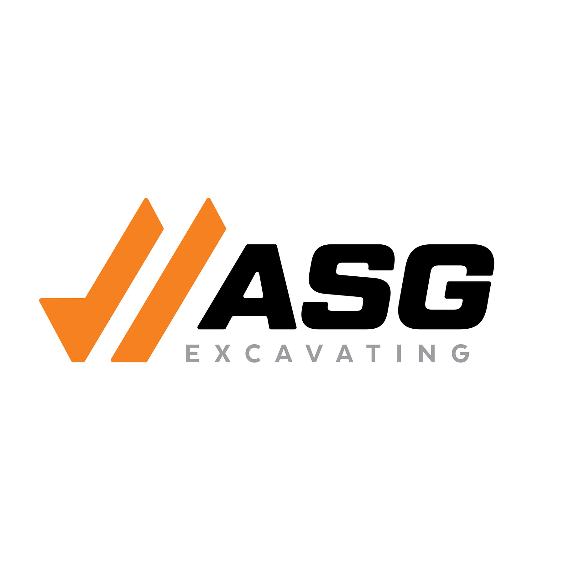 ASG Excavating Logo